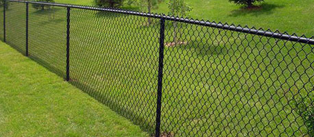 Nice Looking Using The Woven Type Of Chain Link Fences